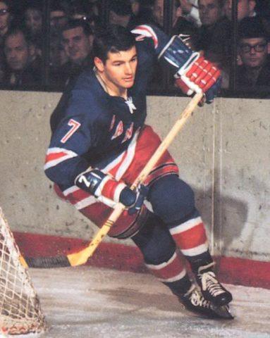 Rod Gilbert hockey
