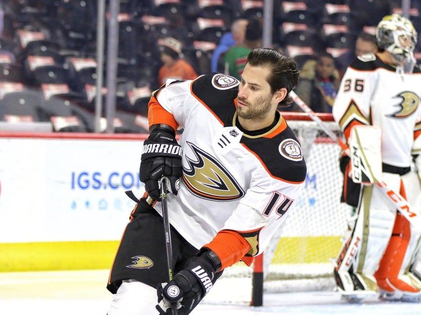 Adam Henrique Anaheim Ducks