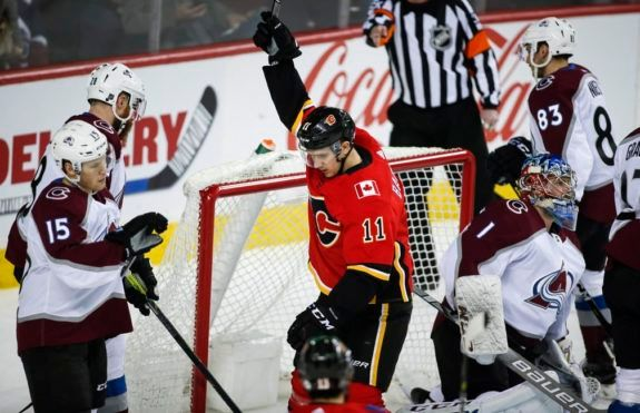 Calgary Flames' Mikael Backlund