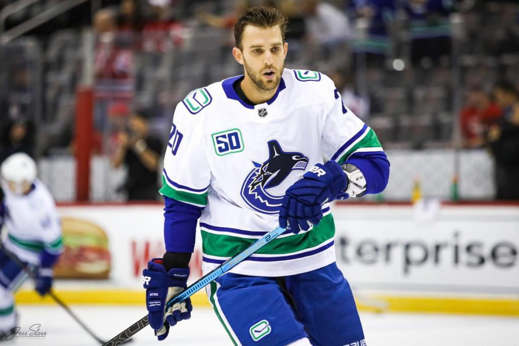 Brandon Sutter Vancouver Canucks
