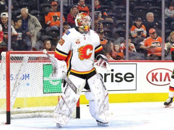 Cam Talbot Calgary Flames