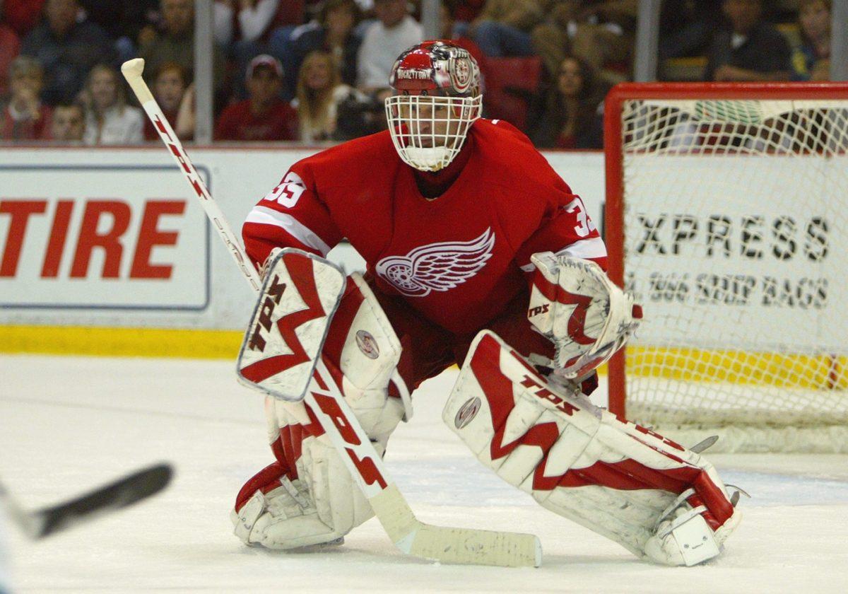 Dominik Hasek Detroit Red Wings