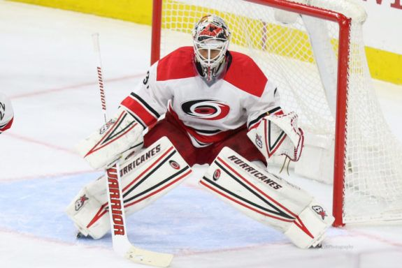 Eddie Lack, Carolina Hurricanes, NHL