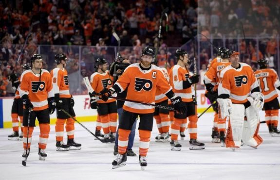 Philadelphia Flyers' Claude Giroux