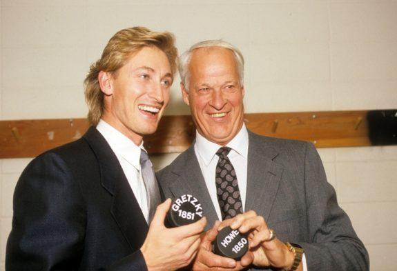 Wayne Gretzky Gordie Howe