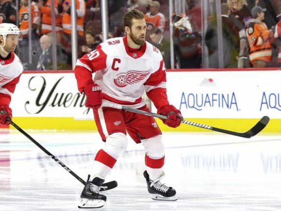 Henrik Zetterberg of the Detroit Red Wings