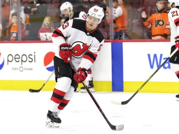 Jesper Bratt New Jersey Devils