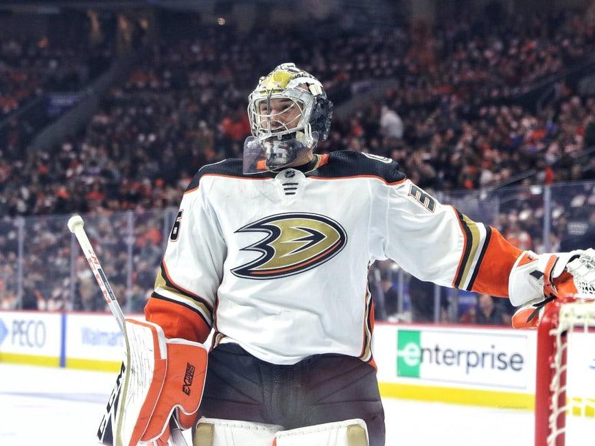 John Gibson Anaheim Ducks