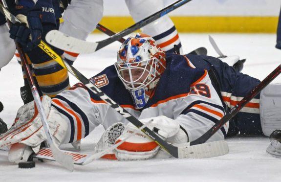Edmonton Oilers Mikko Koskinen