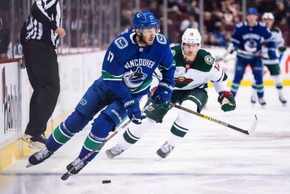 Vancouver Canucks' Josh Leivo