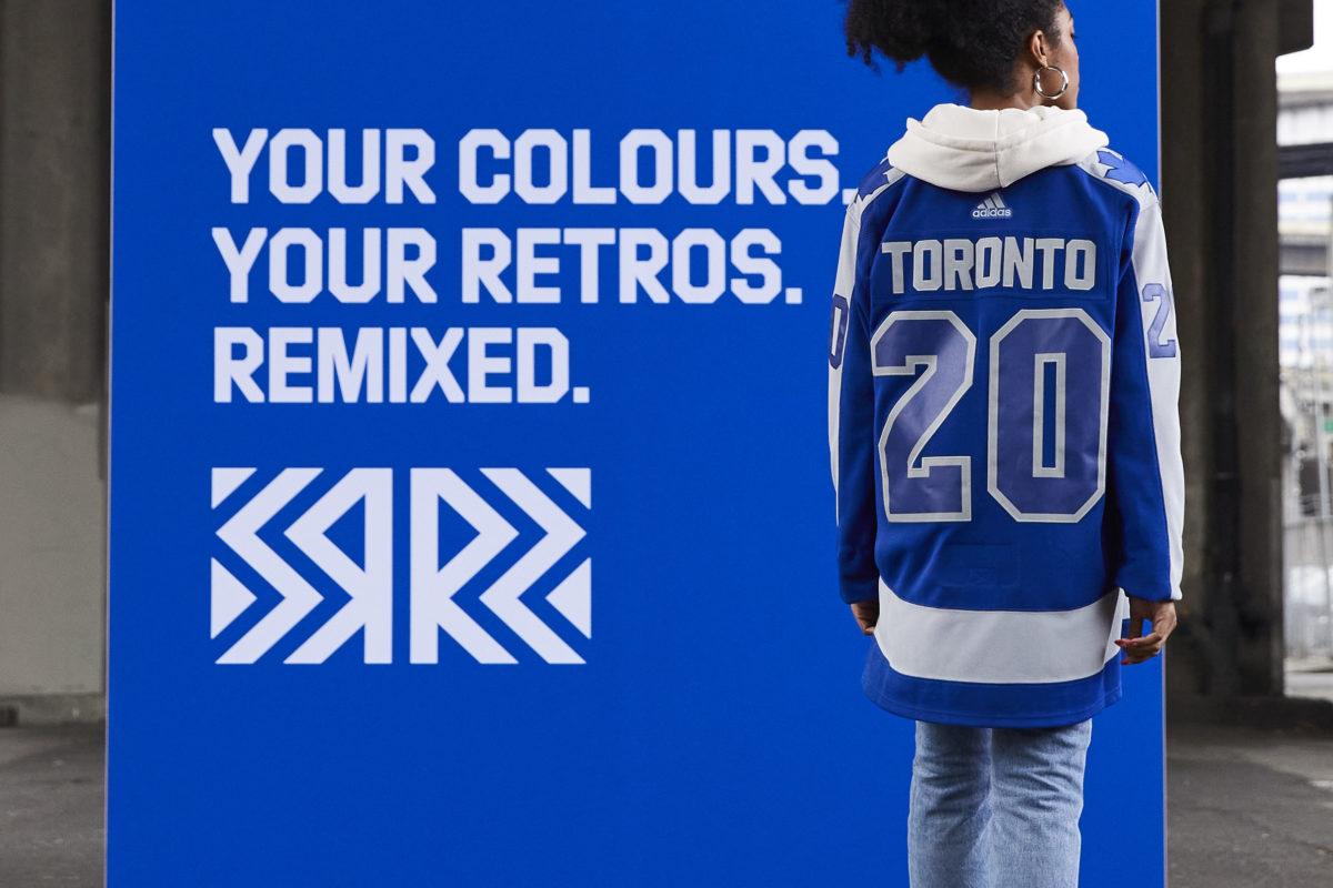 Toronto Maple Leafs Reverse Retro jersey