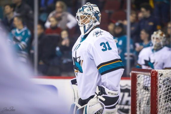 Martin Jones San Jose Sharks