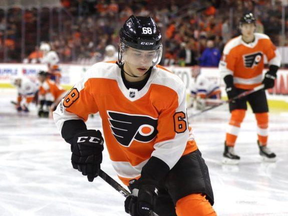 Morgan Frost Philadelphia Flyers