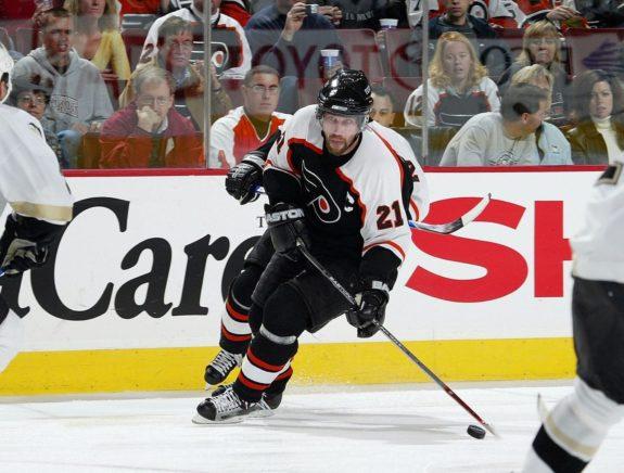 Peter Forsberg Philadelphia Flyers