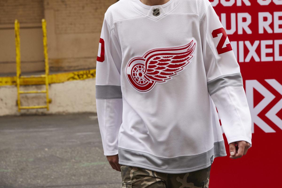 Detroit Red Wings Reverse Retro Jerseys Acknowledge Past, Present