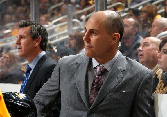 Assistant coach Rick Tocchet