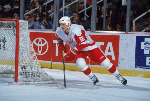 Sergei Fedorov of the Detroit Red Wings