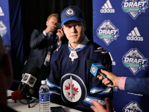 Winnipeg Jets 2019 Nhl Entry Draft Class Midseason Update