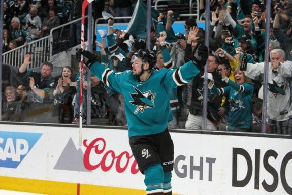 Tomas Hertl San Jose Sharks