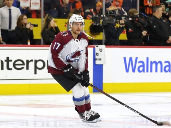Tyson Jost Colorado Avalanche