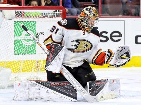 Frederik Andersen Anaheim Ducks