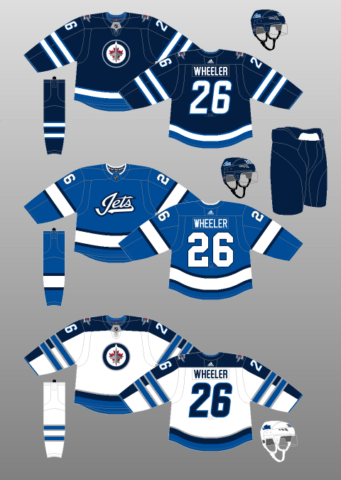 jets home and away jersey