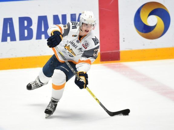 Pavel Dorofeyev of Stalnye Lisy Magnitogorsk