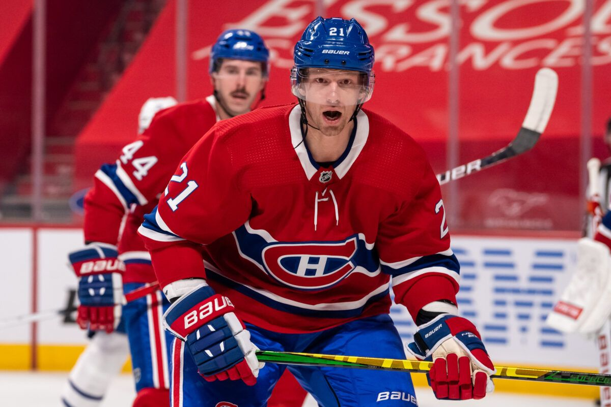 Eric Staal Montreal Canadiens