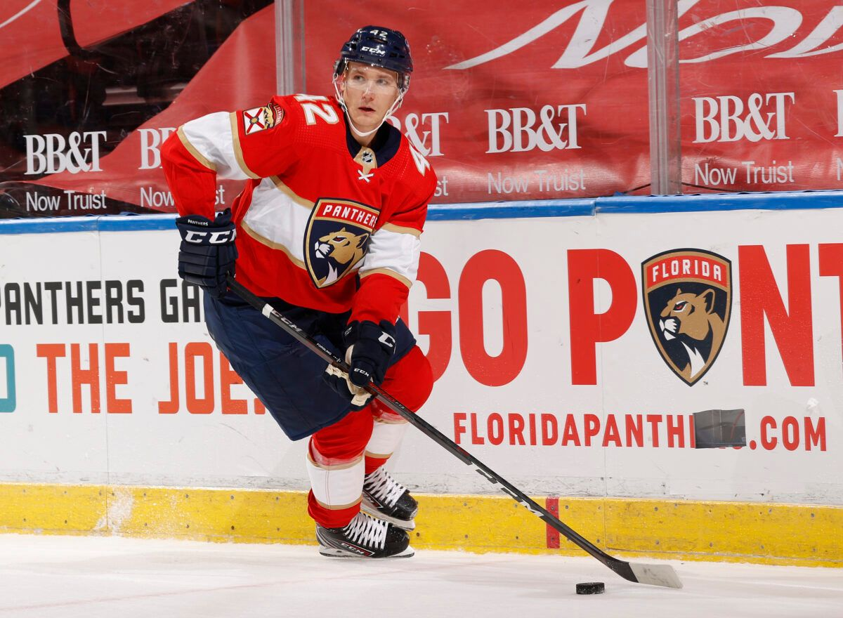 Gustav Forsling Florida Panthers