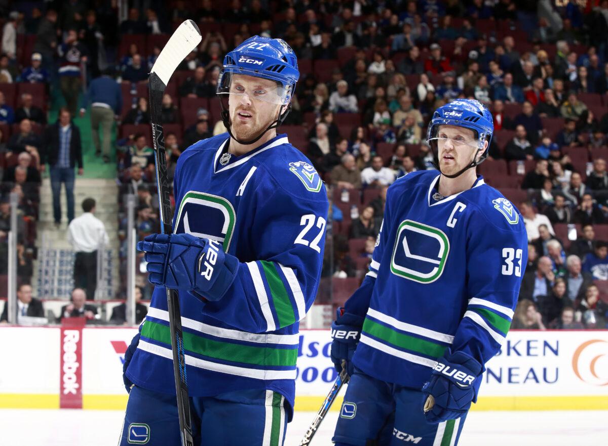 Henrik and Daniel Sedin, Vancouver Canucks