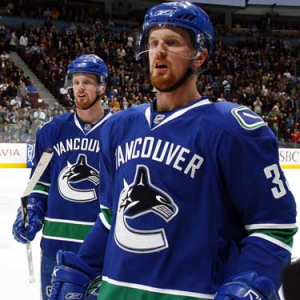 Brothers in Arms. Vancouver's Sedin Twins.     Courtesy canada.com