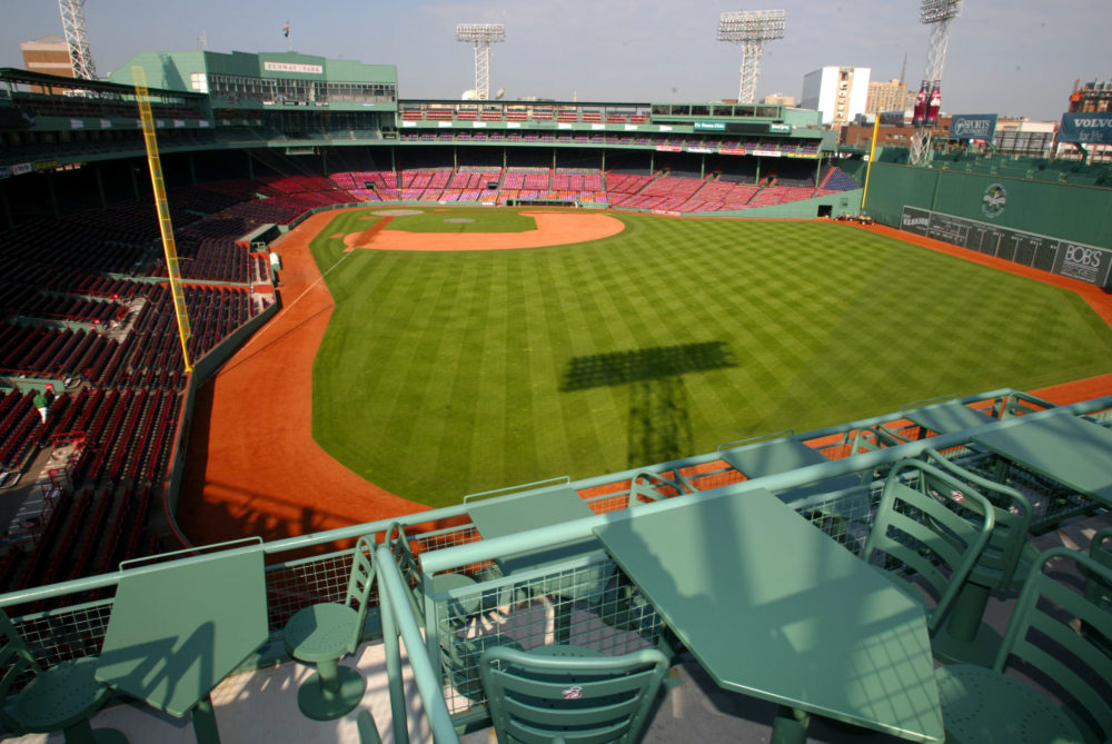 FENWAY PARK TOUR WITH JANET MARIE SMITH