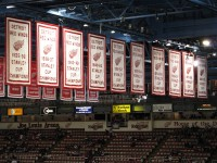 The Banners at the Joe: The Envy of Teams Everywhere (photo property of Jim B L on Flickr)