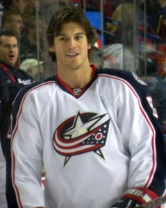 A consistent 20 goal scorer with the Sens, Columbus center Antoine Vermette earns $3 Million this season with the Blue Jackets. (Resolute: Wikipedia Commons)