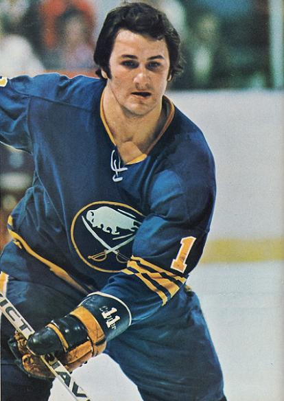 Gilobert Perreault still leads the Buffalo Sabres in most offensive categories. (THW Media Library)