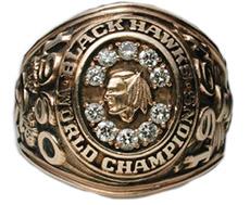 Last Blackhawk Championship ring!
