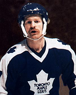 Lanny McDonald with the Maple Leafs (NHL Alumni Association)