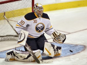 Ryan Miller led the Reborn Sabres into battle against the Polish Express. (HermanVonPetri)