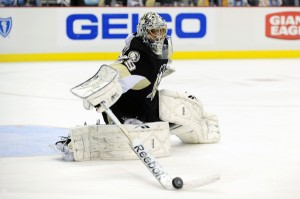 Marc-Andre Fleury : DEC 02 Thrashers at Penguins