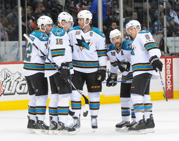 Patrick Marleau, Joe Thornton, Dan Boyle and Joe Pavelski have shown they can put up numbers at the time of year Dany Heatley fails to produce.  (Icon SMI)