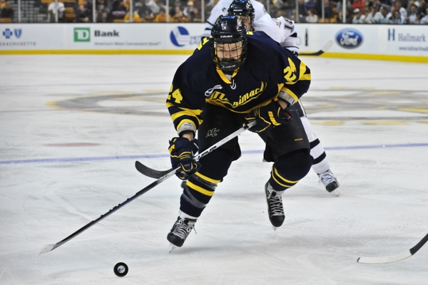 Merrimack forward Stephane Da Costa