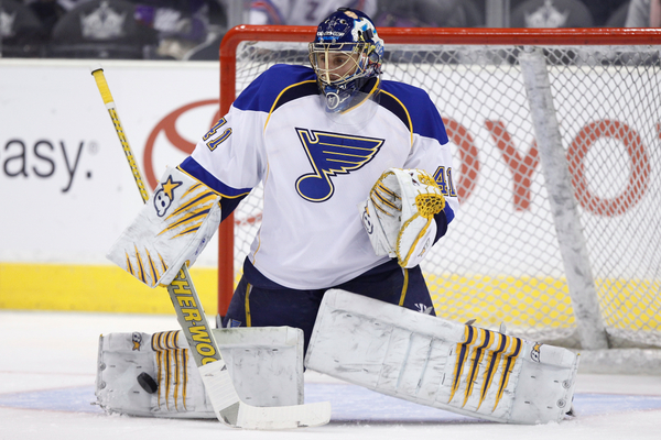 Signing Jaroslav Halak is most likely priority number one for Garth Snow at the moment, but retaining Evgeni Nabokov should be considered regardless of the outcome in the Halak negotiations. (Icon SMI)
