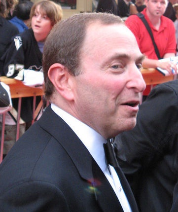 Commissioner Gary Bettman (cr: captcanuk@flickr)