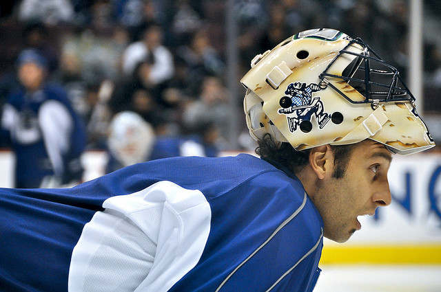 Is Luongo the answer to the Bolts' question in-goal? (Photo by Allie Turnbull).