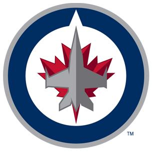 Featuring a fighter jet over a maple leaf, this is presumed to be the primary logo.