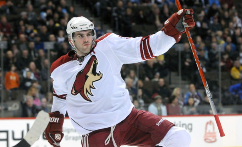Milestone Night for the Phoenix Coyotes in Victory over Ducks