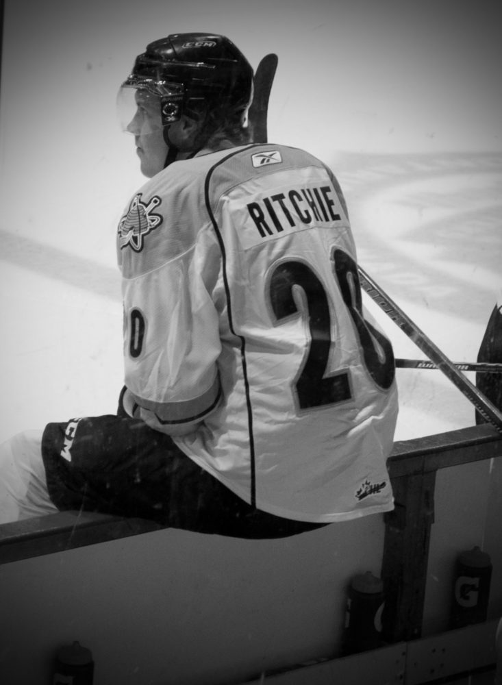 Brett Ritchie (Dallas Stars, 2011 44th Overall) offers a net presence and soft hands (Photo Courtesy of Brendan Ross/The Scouting Bureau)