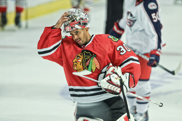 Goalie Tough Guy Ray Emery (Icon SMI)