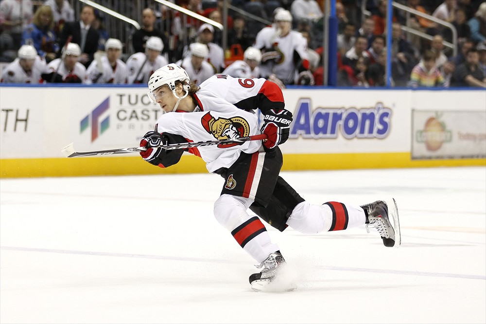 Erik Karlsson is ready to have an impact for the Senators (Icon SMI)