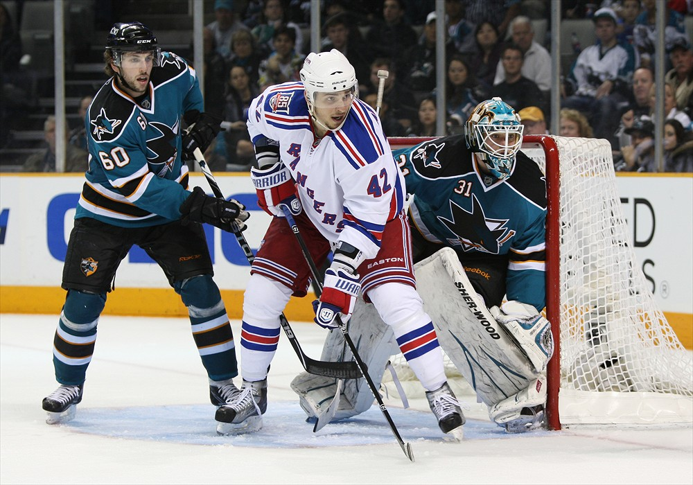 Artem Anisimov is currently sitting at five-percent owned on Yahoo (Tony Medina/Icon SMI)